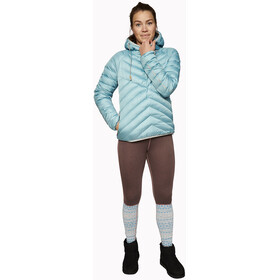 Varg Älgön Downhood Anorak Dames, reef water blue